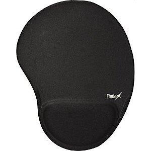 Mouse Pad Reflex com Apoio - Preto