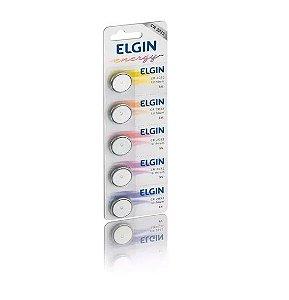 Bateria Botão Elgin CR2032 3V - Lithium - 5 Unidades