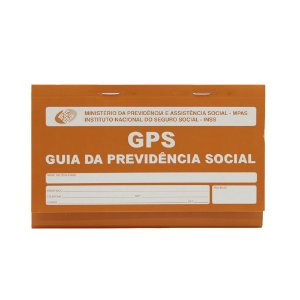 Carnê da Previdência Social  Impresso Gps 12x2 Vias 180x110mm - Sao Domingos