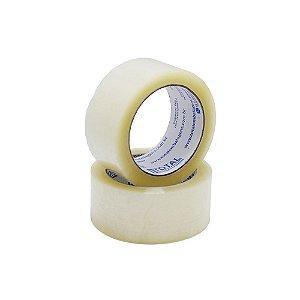 Fita Adesiva Transparente 45mmx100m - Total Embalagens