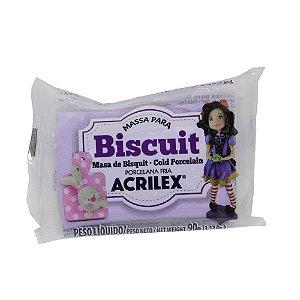 Massa de Biscuit Acrilex Lilas - 90g