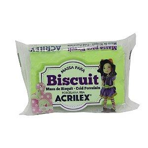 Massa de Biscuit Acrilex Verde Folha - 90g