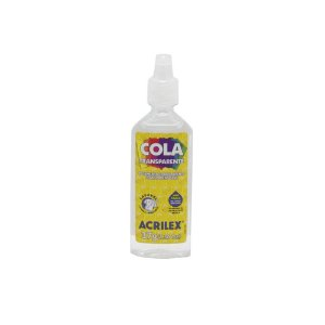 Cola Transparente 37g Acrilex PT  - 1 Unidade