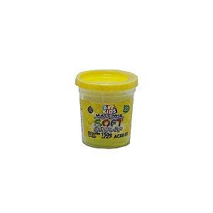 Massa De Modelar Acrilex Soft Glitter Amarelo - 150g