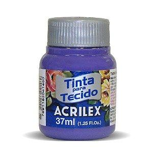 Tinta de Tecido Fosca Acrilex - 37ml Violeta