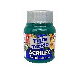 Tinta de Tecido Fosca Acrilex - 37ml Verde Bandeira