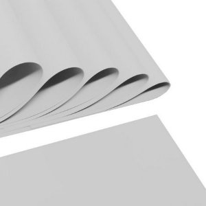 Placa Em Eva 60x40cm Branco 1,6mm Make+