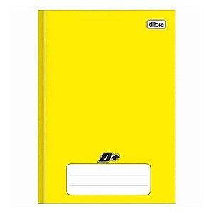 Caderno Brochura Capa Dura 1/4 D+ Amarelo 96flhs Tilibra