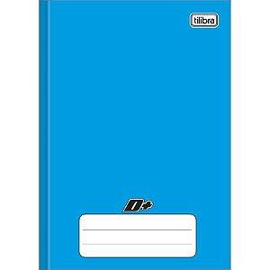 Caderno Brochura Capa Dura 1/4 D+ Azul 96flhs Tilibra