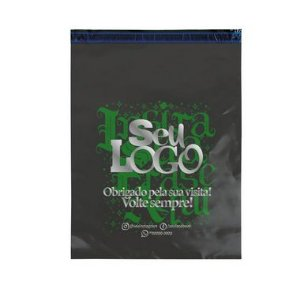 Envelope Personalizado Cinza Sem Bolha 40x50 - Seu Logo