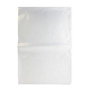 Saco Plástico Cristal Transparente 50cm x 70cm