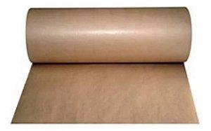Bobina Papel Pardo Kraft 40cm 200m + Fita Adesiva Marrom 48mmx100m  5 Uni