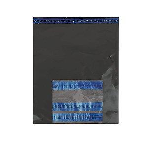 Envelope Segurança Cinza Sem Bolha 50x60 + Saco Canguru AWB 10x12