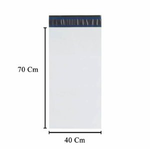 Envelope Plástico de Segurança Sem Bolha 40x70