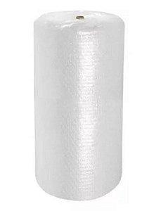 Bobina Plástico Bolha 1,30 X 100m 18 Micras C/ Recortes De 40cm X 1,30