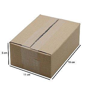 Caixa De Papelão - Embalagens 16x11x05 cm