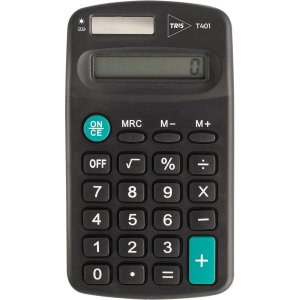 Calculadora de bolso Tris T401 8 Digitos Pilha Aa Summit