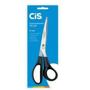 Tesoura Uso Geral Cis Ts-54 Office 21cm Preto Sertic