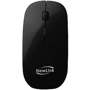 Mouse otico sem fio Freedom 1600dpi 2,4ghz Preto Newex