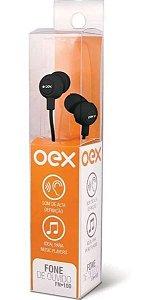 Fone de ouvido Intra Auricular Newex - Preto