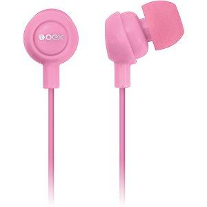 Fone de ouvido Intra Auricular Newex - Rosa