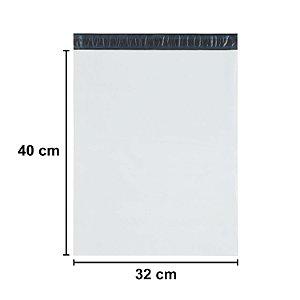 Envelope Plástico de Segurança Sem Bolha 32x36