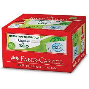 Corretivo Faber-Castell Eco 18ml Faber-Castell Caixa C/ 12 Unidades