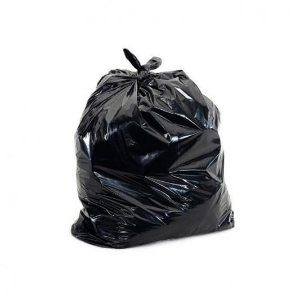Saco para lixo 020l Preto 40x50cm 5micras Ecoplan Pacote C/ 100 Unidades