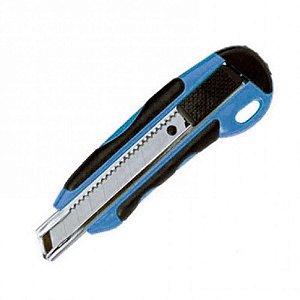 Estilete largo Cis-168bc Profissional Metal Sertic - Azul