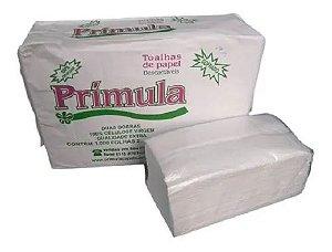 Toalha De Papel Celulose Virgem Pacote Com 1.000 Folhas