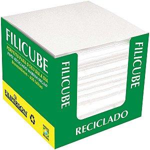 Bloco Para Recado Filicube 8x8cm.90g. Rec. Marfim Filiperson