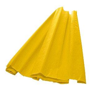Papel Crepom Amarelo 48cmx2,00m