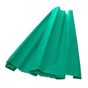 Papel Crepom Verde Bandeira 48cmx2,00m