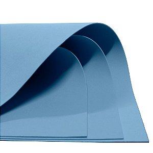 Placa em EVA 60x40cm Azul Bebe 1,8mm. Dubflex