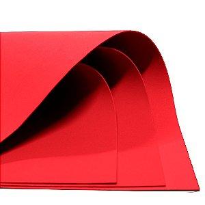 Placa em EVA 60x40cm Vermelho 1,6mm Make+