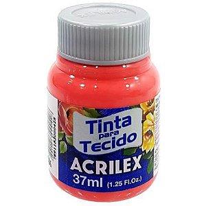Tinta Tecido Fosca 037ml Coral Acrilex