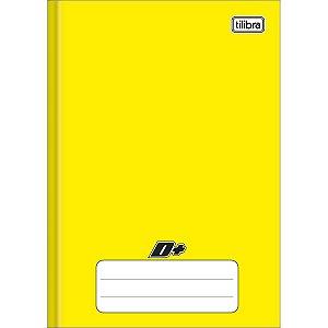 Caderno Brochura 1/4 Capa Dura Amarelo D+ 48 Folhas - Tilibra