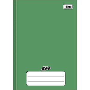 Caderno Brochura 1/4 Capa Dura Verde D+ 48 Folhas - Tilibra