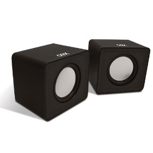 Caixa Acustica Para Computador Speaker Cube Preta 3w Usb/P2 SK102