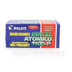 Pincel marcador permanente atomico 1100p verde recarreg. Pilot