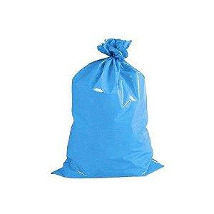 Saco de Lixo Azul 50 Litros 22 Micras - 50 Uni