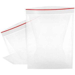 Saco Zip Transparente N.05 10x14cm. Pct.C/100 Grespan