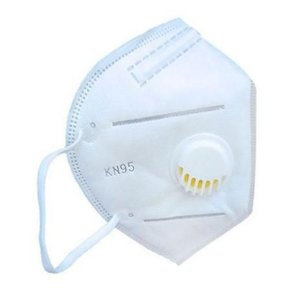 Máscara branca com válvula - KN95 Shengkang