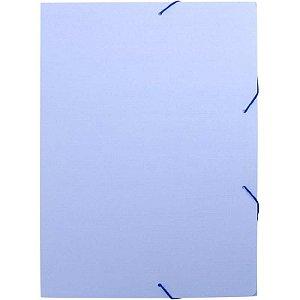 Pasta Aba Elastica Plastica Oficio Serena Azul Pastel Dello