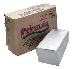 Papel Toalha Interfolha 20cm X 21 Cm 1000 Folhas Embalagem Parda