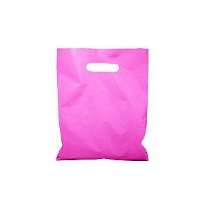 Sacola Boca de Palhaço Rosa 25x30 0,13