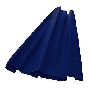 Papel Crepom Azul Escuro 48cmx2,00m