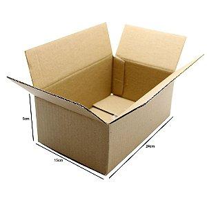Caixa De Papelão Embalagens 24x15x09 Cm