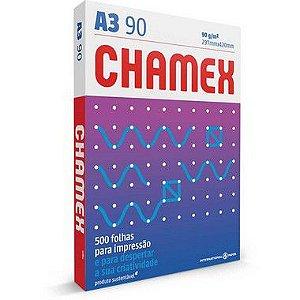 Papel Sulfite A3 Chamex Super 90g 500 Fls International Paper