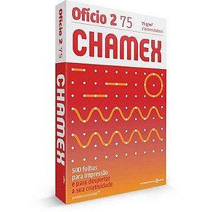 Papel Sulfite Oficio 2 Chamex 75g 500 Fls
